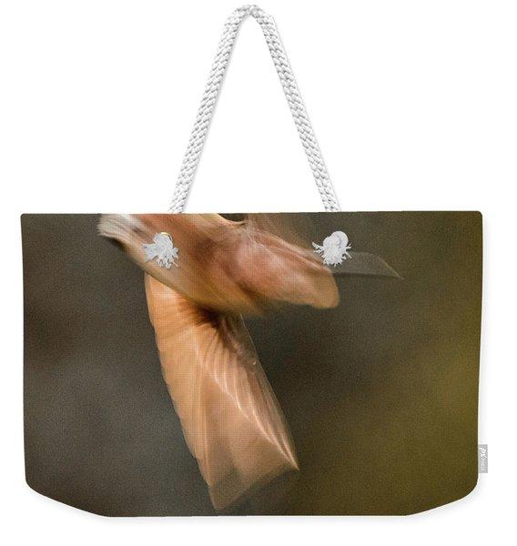 ...frozen Flight Hummingbird.... Weekender Tote Bag