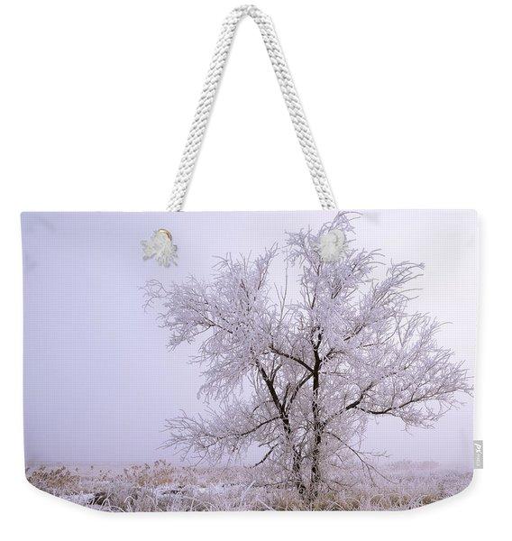 Frozen Ground Weekender Tote Bag