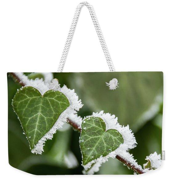 Frozen Love Weekender Tote Bag