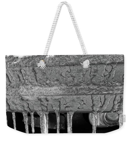 Frozen Road Warrior Weekender Tote Bag