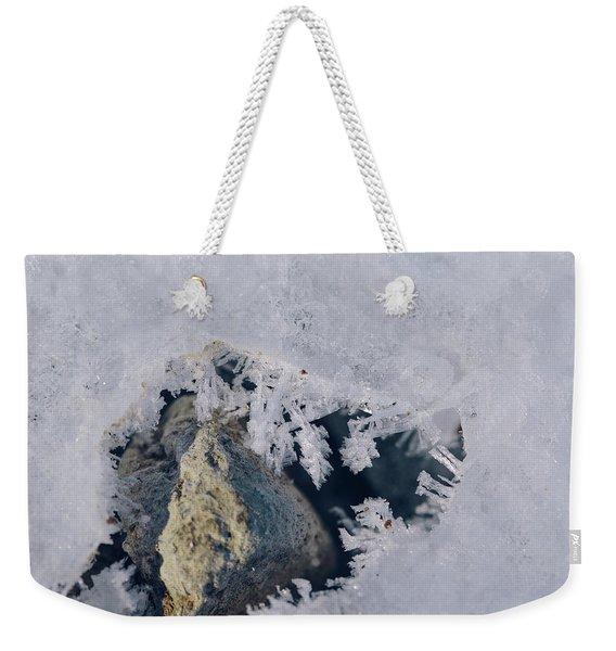 Frozen Rock Weekender Tote Bag