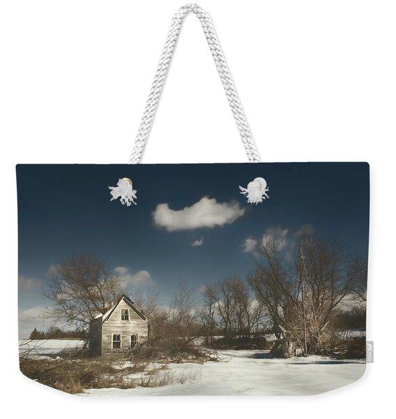 Frozen Stillness Weekender Tote Bag