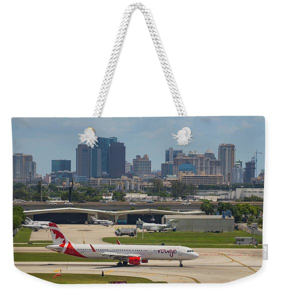 Frt Lauderdale Airport/city Weekender Tote Bag