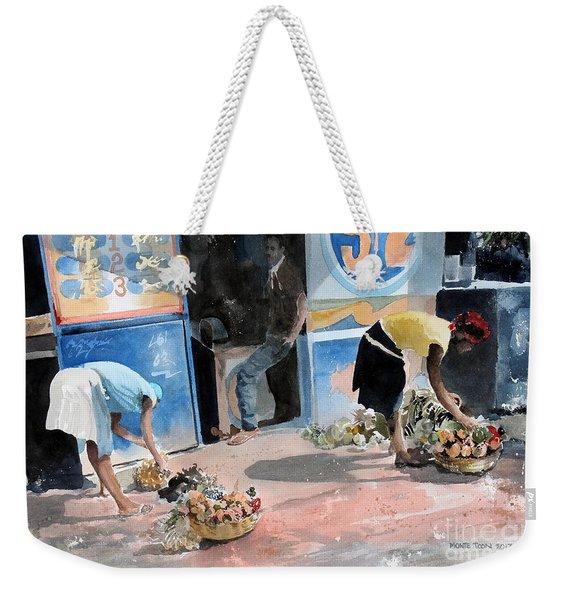 Fruit And Vegetables Weekender Tote Bag