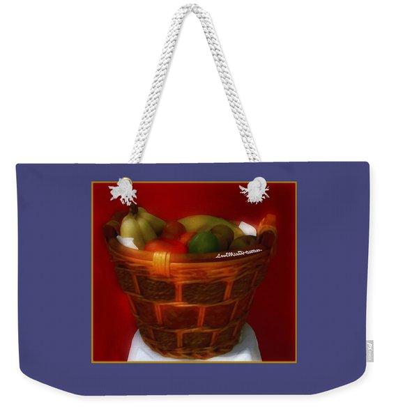 Fruit  Art 3 Weekender Tote Bag
