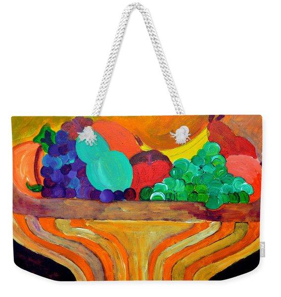 Fruit Bowl 1 Weekender Tote Bag