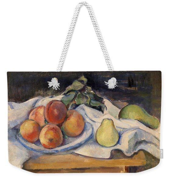 Fruit On A Table Weekender Tote Bag