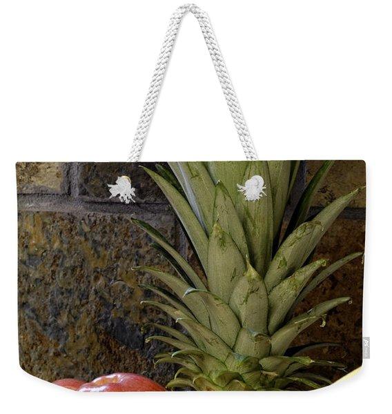 Fruit Pile Weekender Tote Bag