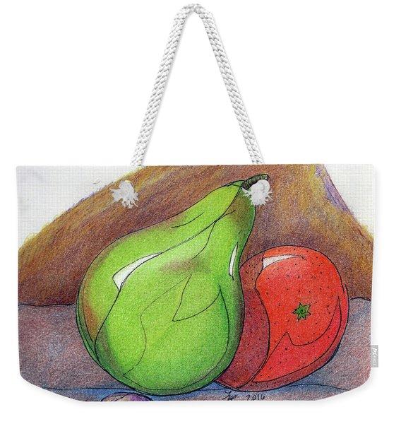 Fruit Still 34 Weekender Tote Bag