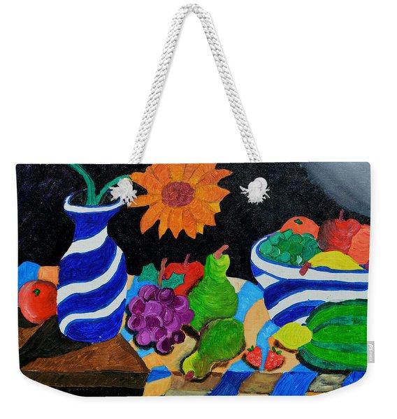 Fruitful Still Life Weekender Tote Bag