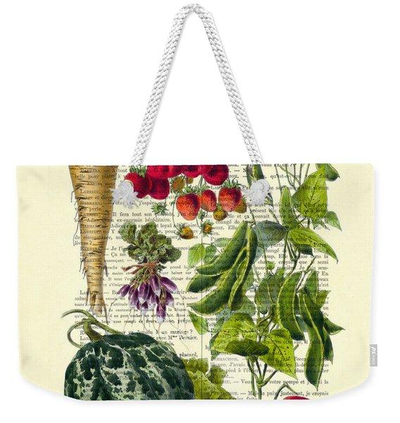 Fruits And Vegetables Kitchen Decoration Weekender Tote Bag