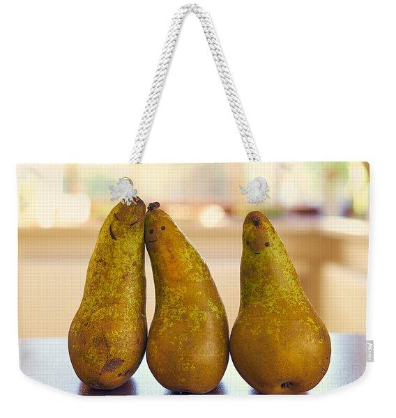 Fruity Family Weekender Tote Bag