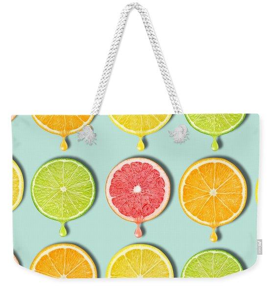 Fruity Weekender Tote Bag