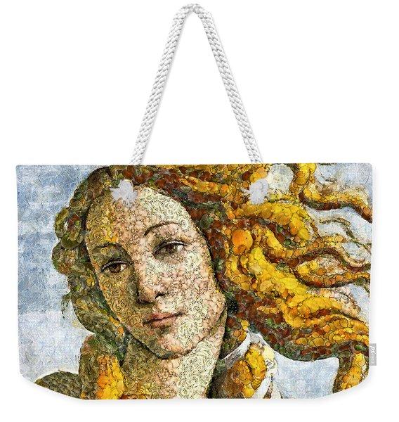 Fruity Venus I Am So Sorry Mr Boticelli Weekender Tote Bag