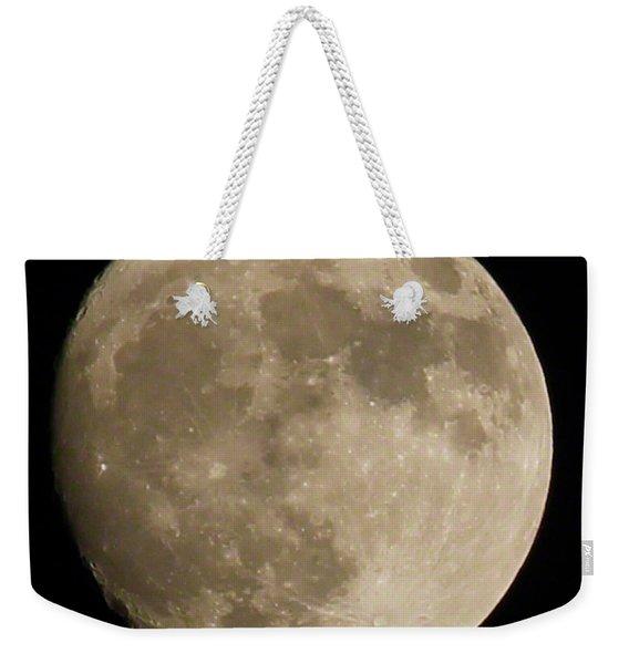 Full Moon 2016 Weekender Tote Bag