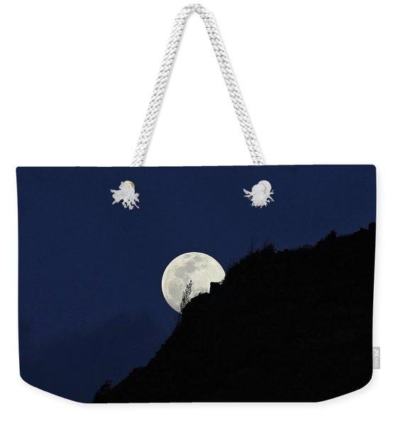 Full Moon Behind Makapu'u Weekender Tote Bag