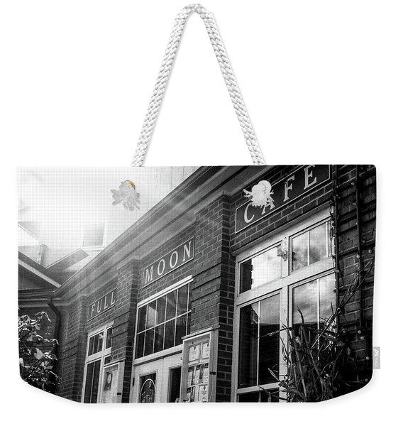 Full Moon Cafe Weekender Tote Bag