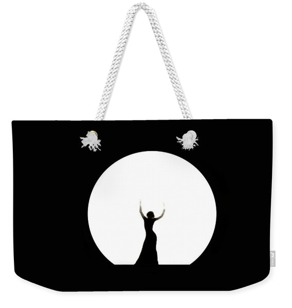 Full Moon Dance Weekender Tote Bag