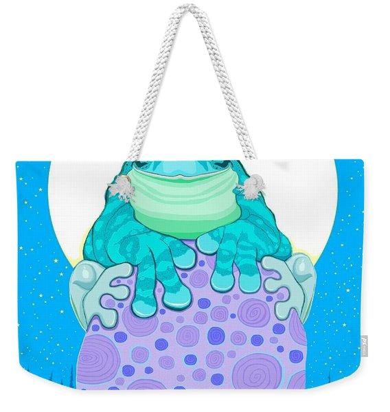 Full Moon Froggy  Weekender Tote Bag
