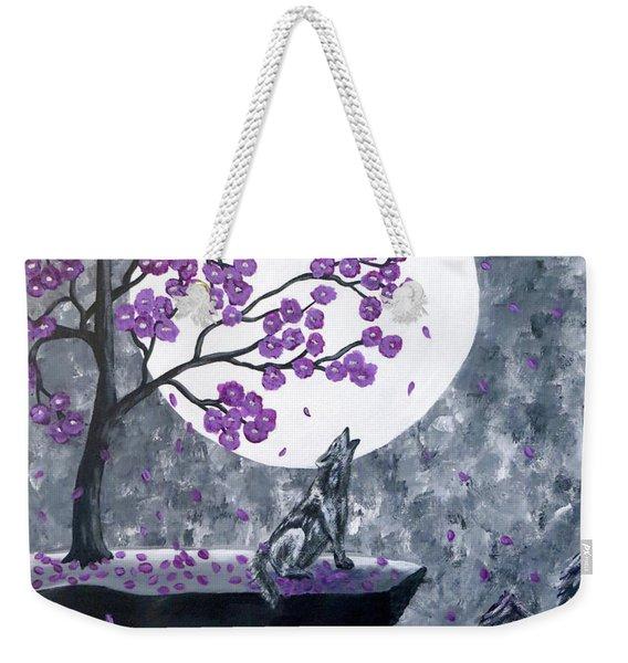 Full Moon Magic Weekender Tote Bag