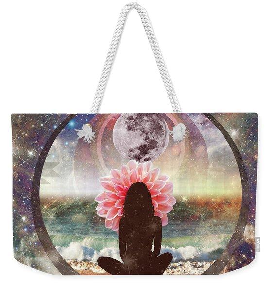 Full Moon Meditation  Weekender Tote Bag