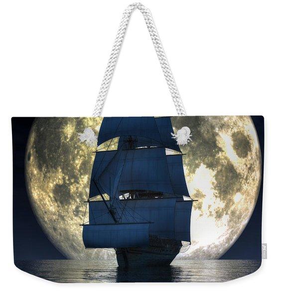 Full Moon Pirates Weekender Tote Bag