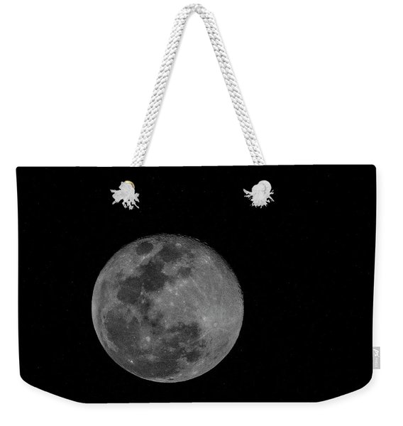 Full Moon Rising Weekender Tote Bag