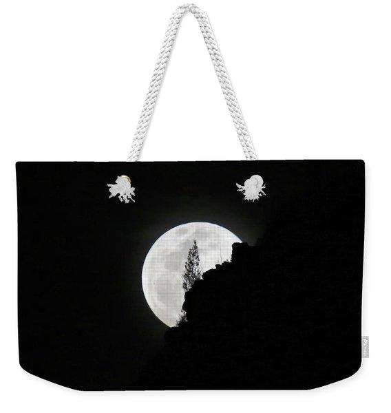 Full Moon Rising Over Makapu'u Weekender Tote Bag