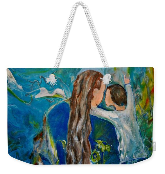 Full Of Wonder Weekender Tote Bag