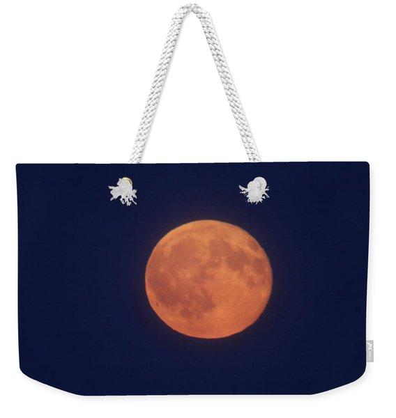 Full Sturgeon Moon Weekender Tote Bag