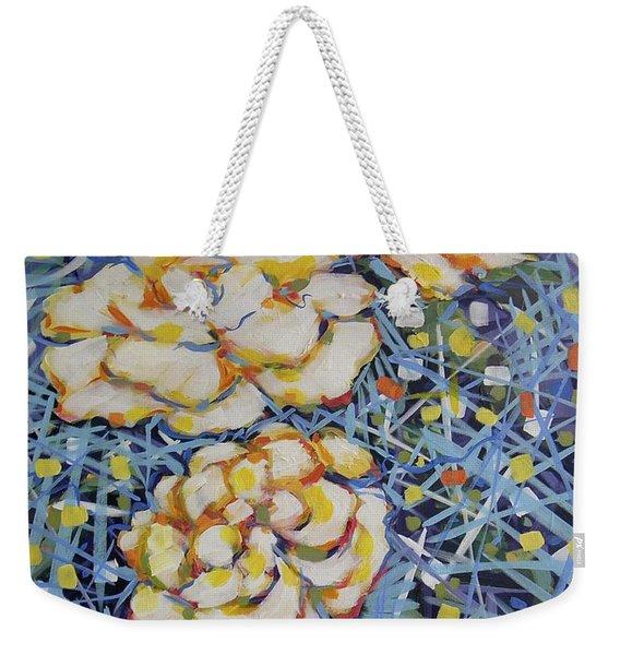 Fun Flowers Weekender Tote Bag