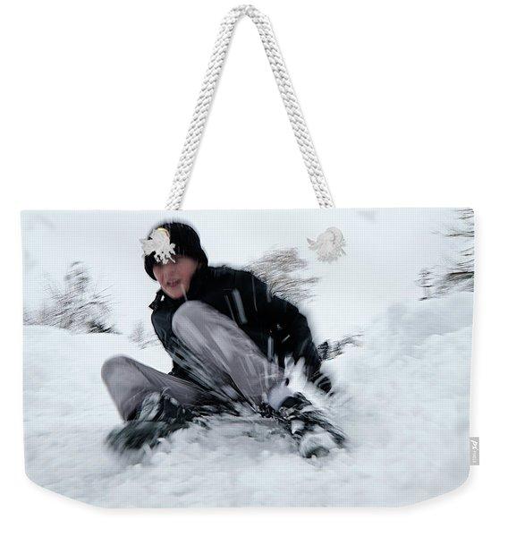 Fun On Snow-4 Weekender Tote Bag