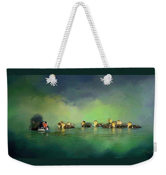 Fun On The Water Weekender Tote Bag