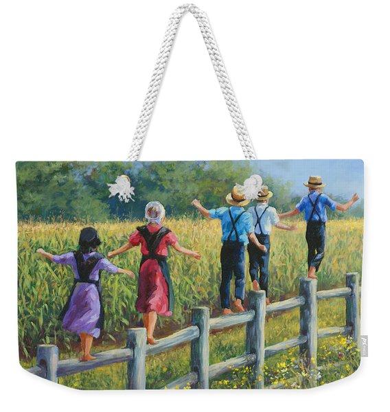 Girls Can To Weekender Tote Bag