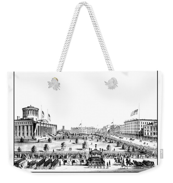 Funeral Obsequies Of President Lincoln Weekender Tote Bag