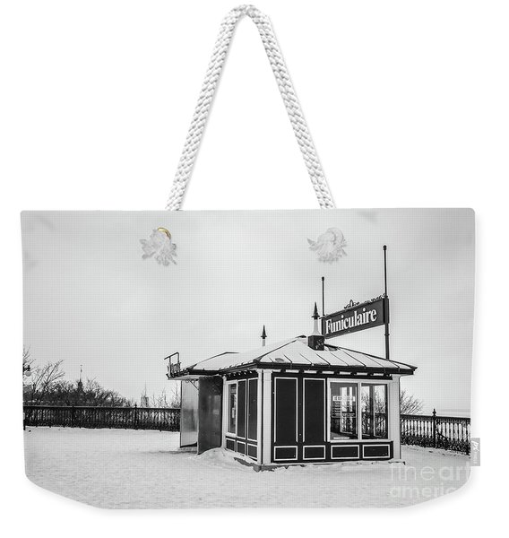 Funiculaire Quebec City Weekender Tote Bag
