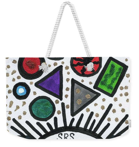 Funky Stratosphere Weekender Tote Bag