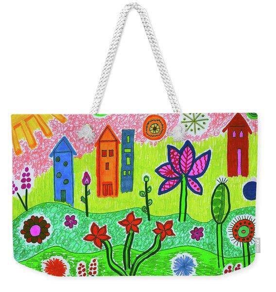 Funky Town Weekender Tote Bag