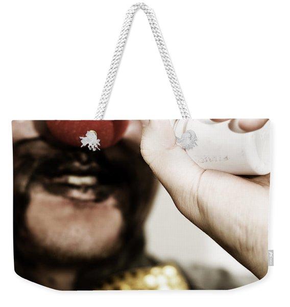 Funny Tablets Weekender Tote Bag