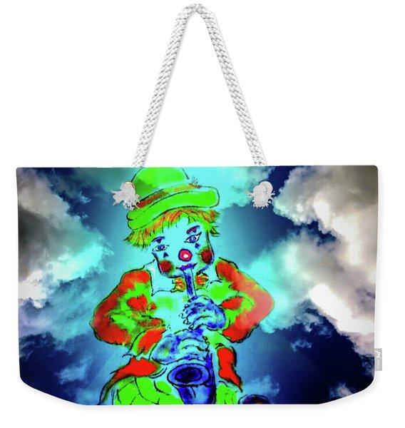 Funny World - Clown Weekender Tote Bag