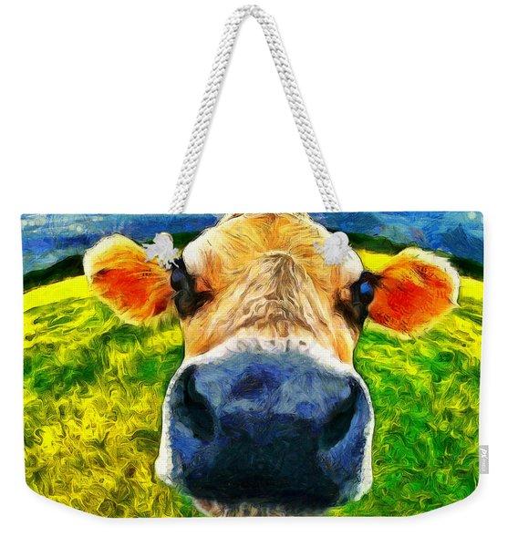 Funnycow Weekender Tote Bag