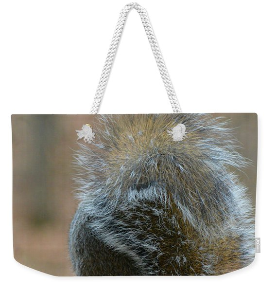 Fur Ball Weekender Tote Bag