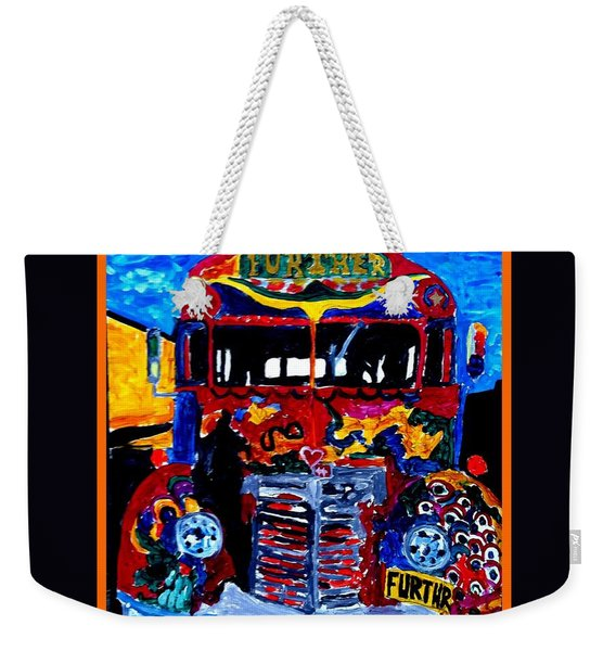 50th Anniversary Further Bus Tour Weekender Tote Bag