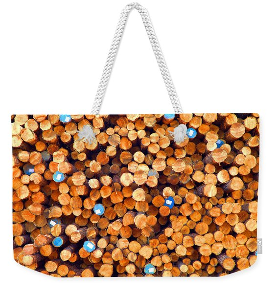Future Two By Fours Weekender Tote Bag