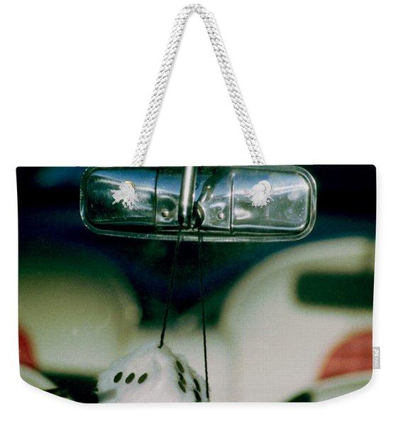 Fuzzy Dice  Weekender Tote Bag