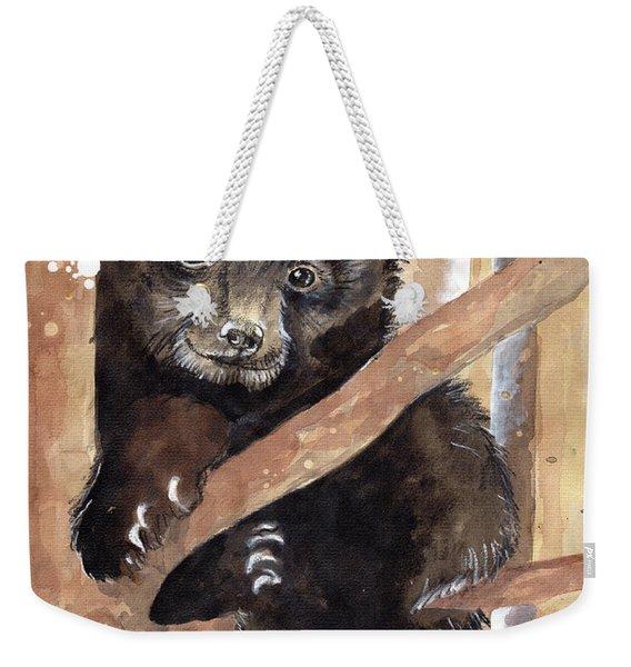 Fuzzy Wuzzy Weekender Tote Bag