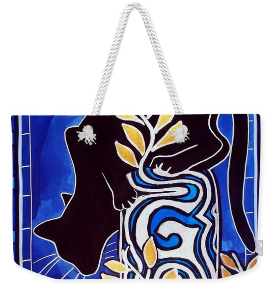G Is For Gato - Cat Art With Letter G By Dora Hathazi Mendes Weekender Tote Bag