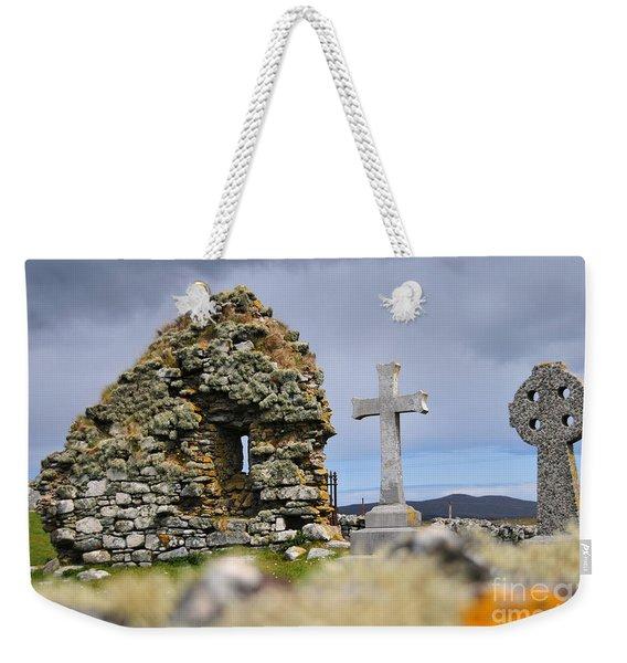Gaelic Headstone Weekender Tote Bag
