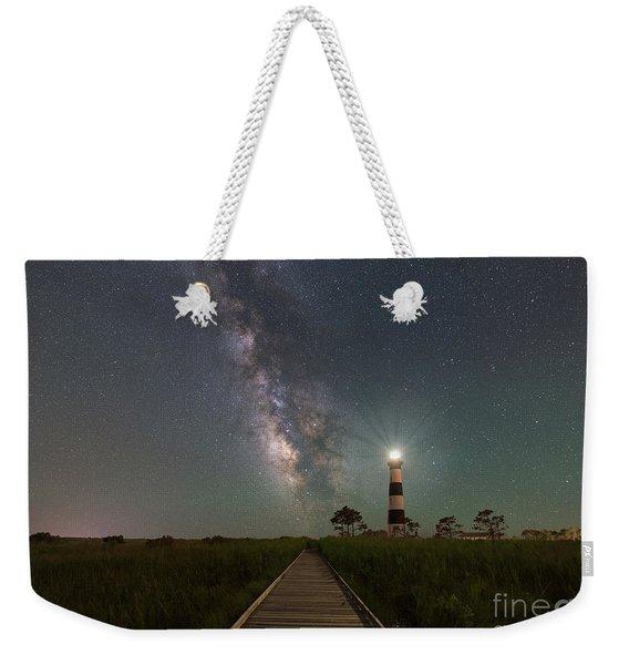 Galactic Beacon   Weekender Tote Bag