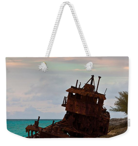 Gallant Lady Aground Weekender Tote Bag